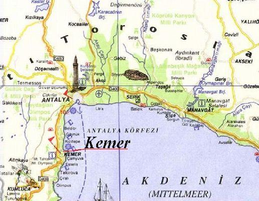Карта Кемера Скачать - фото 8